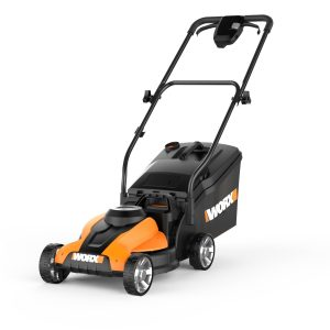 14-Inch-Cordless-Easy-Start-Removable-Collection-Lawn Mower