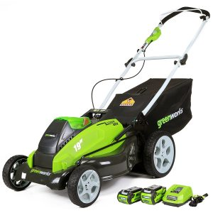 GreenWorks-25223-Cordless-Batteries-Included-Lawn Mower