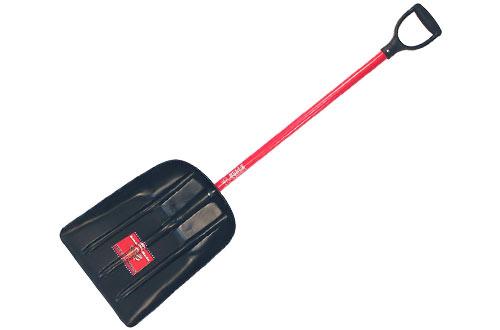 Snow Scoop with Fiberglass D-Grip Handle